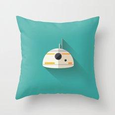 BB8 Flat Design Throw Pillow