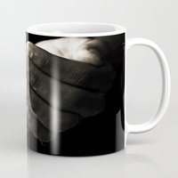 hands Mugs featuring hands by Ingrid Beddoes