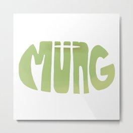 Mung Bean Metal Print