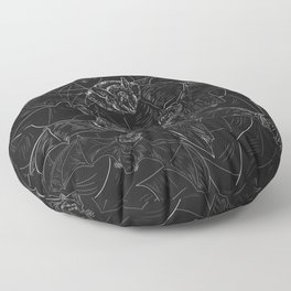 Bat Attack Floor Pillow