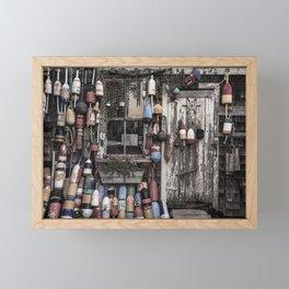 Fishing Shack Framed Mini Art Print