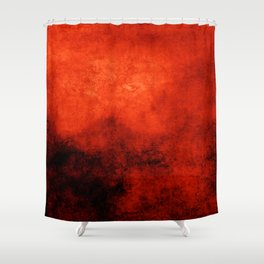 Abstract Cave XI Shower Curtain