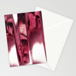blurred blood portrait Stationery Cards