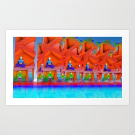 Peace Mission Art Print