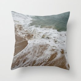 The Violence is a Brewing Throw Pillow