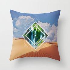 barren lush Throw Pillow