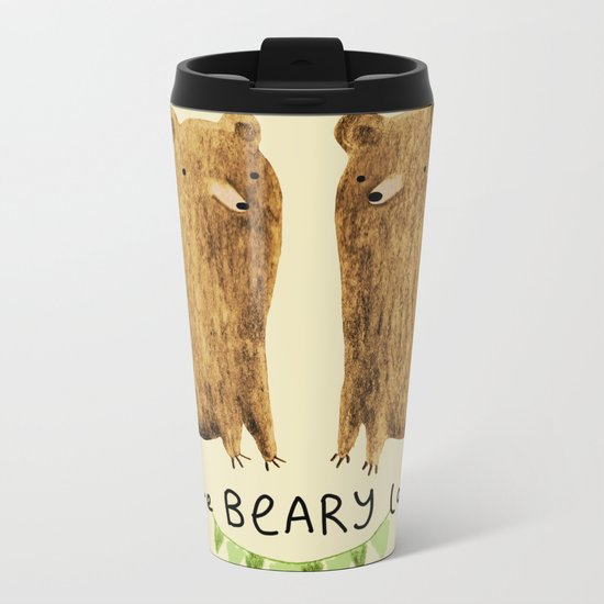 Beary Lovely Metal Travel Mug