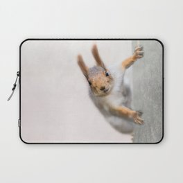 Squirrel - Who are you? Laptop Sleeve