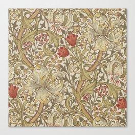 William Morris Golden Lily John Henry Dearle Canvas Print
