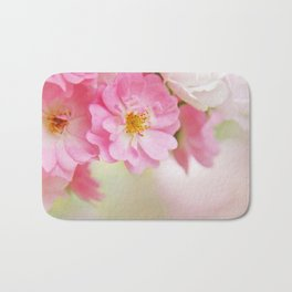 rose1 Bath Mat