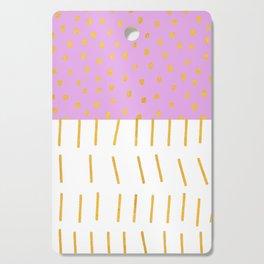 AZTEC BABE - Modern Pink Furniture Cutting Board
