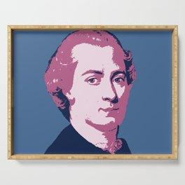 Immanuel Kant Serving Tray
