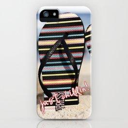 Flip Flop Thong iPhone Case