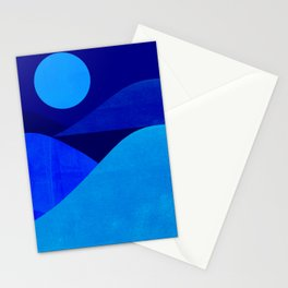 Abstraction_Moonlight Stationery Cards