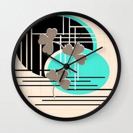 Saint Patrick, abstraction 2 Wall Clock