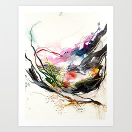Day 58: Beauty and variety could not exist without peculiarity. Art Print