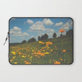 Dreaming in a Summer Field Laptop Sleeve