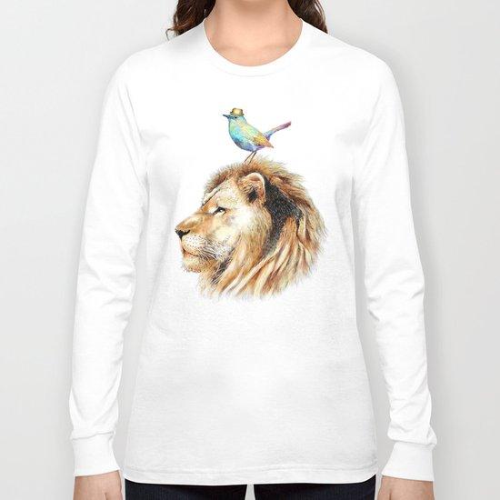Lion&Bird Long Sleeve T-shirt
