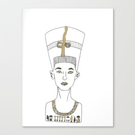 Queen of the Nile Canvas Print