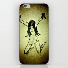 "Women with no faces--series ""prisoner"" iPhone Skin"