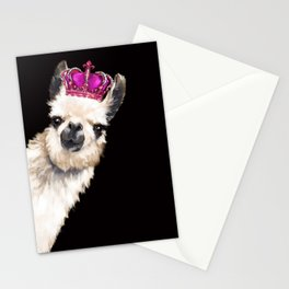 Llama Queen Stationery Cards