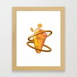 Bounty Rune Framed Art Print