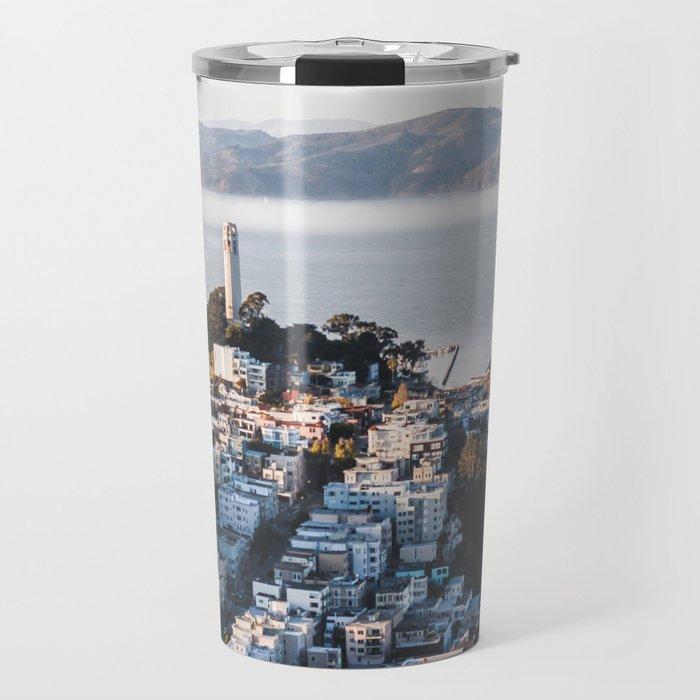 Coit Tower - San Francisco, CA Travel Mug
