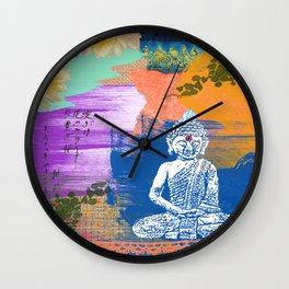BUDDHA COLOR Wall Clock