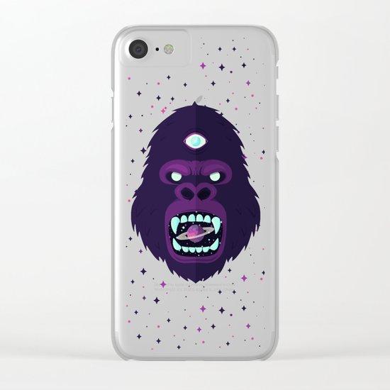 Cosmorilla Clear iPhone Case