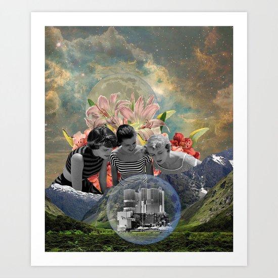 """Lost City"" Art Print"