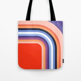 70s Stripes Rainbow 2 Tote Bag