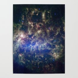 Large Magellanic Cloud, infrared 2 Poster