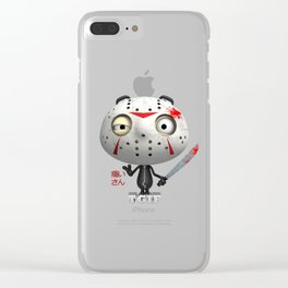 T.G.I.F. (Itai-San) Clear iPhone Case