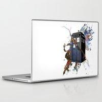 tardis Laptop & iPad Skins featuring tardis by erkamaj