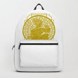Stained Glass - Dragonball - Vegeta SSJ Backpack