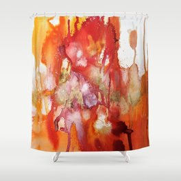 mer rouge Shower Curtain