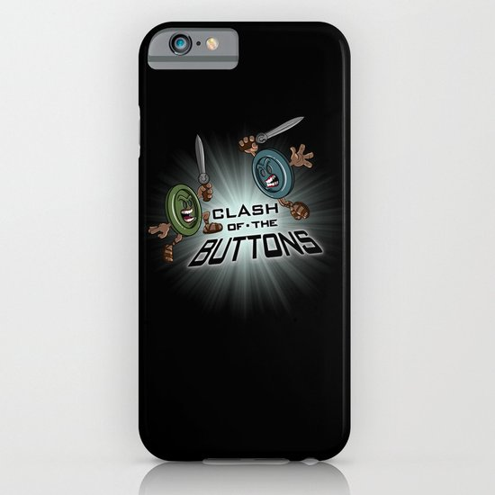 Clash of the BUTTONS! iPhone & iPod Case