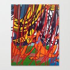 LICHTENSTEIN/PLUTO Canvas Print