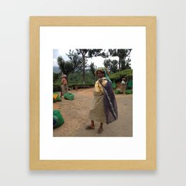 Tea Lady Framed Art Print