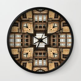 Architectural Sky Light Structure Wall Clock