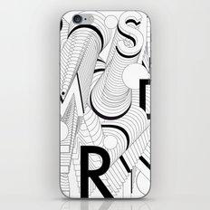History of Art in Black and White. Postmodern iPhone Skin