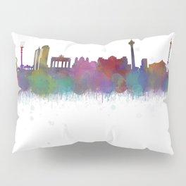 Berlin City Skyline HQ4 Pillow Sham