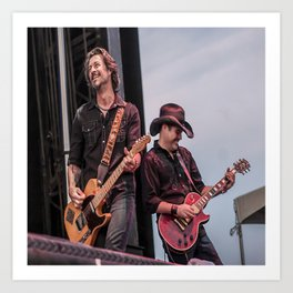 Roger Clyne and the Peacemakers shower curtain Art Print