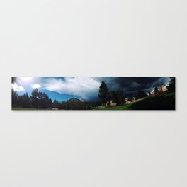 Yin Yang Skies Canvas Print