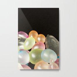 Water Balloons Metal Print