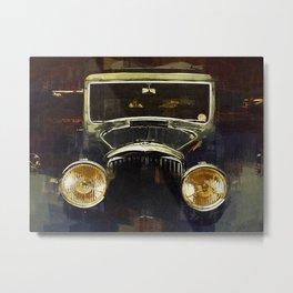Vintage Rolls Royce Metal Print