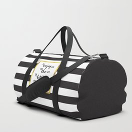 The Little Things Quote Duffle Bag
