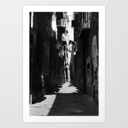 NAPLES POSTCARD 004 Art Print