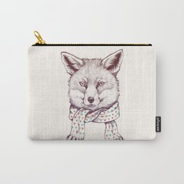 Fox and scarf Carry-All Pouch