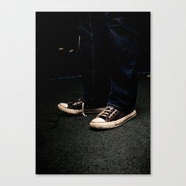 Toe Tappin' Chucks Canvas Print